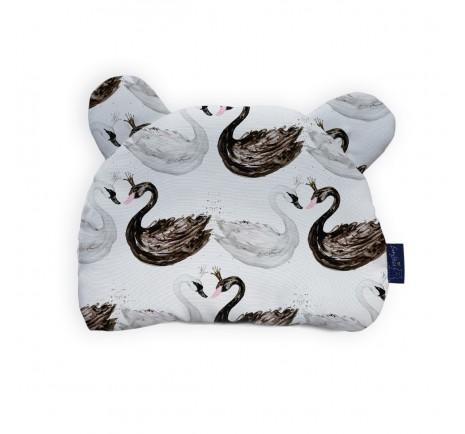 Bamboo cushion - Black Swan