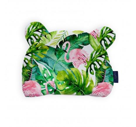 Bamboo cushion - Flamingos