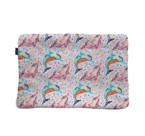 Flat pillow 40x60 - Dolphines