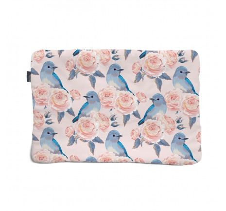 Flat pillow 40x60 - Birds