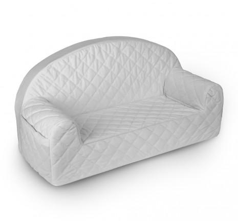 Velvet Sofa - Gray