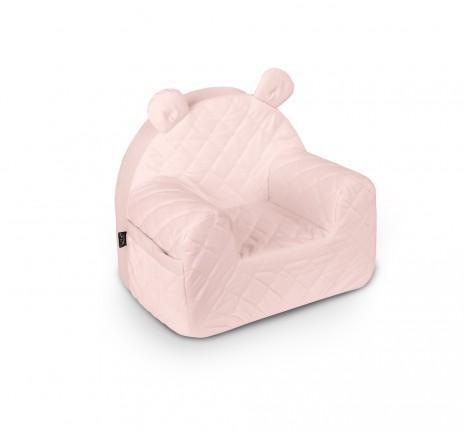 Fotelik Velvet - Soft Pink