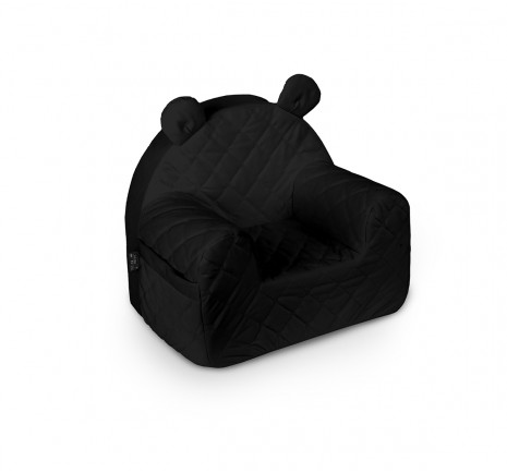 Fotelik Velvet - Black