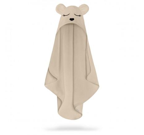 Ręcznik bambusowy miś - beige