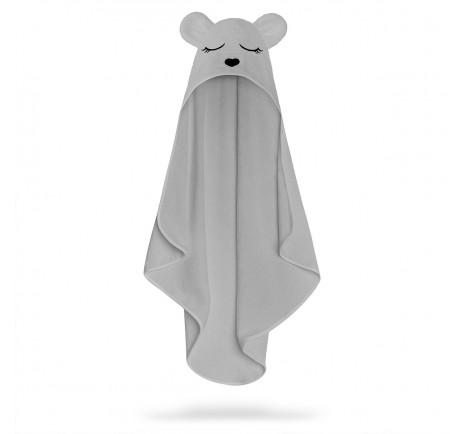 Ręcznik bambusowy miś - gray