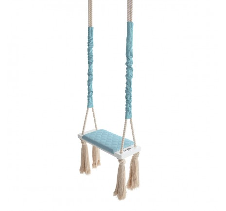 Huśtawka WoodSwing – Baby blue