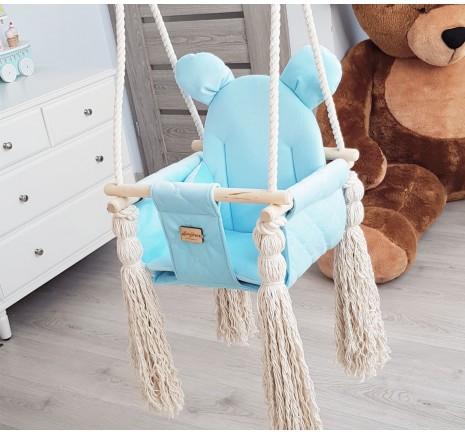 Velvet Swing - Baby Blue
