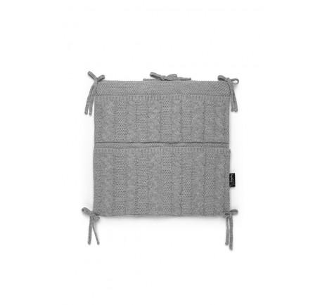 Knitted organizer - Grey