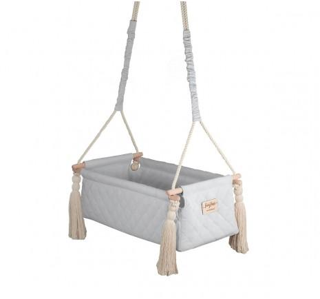 Kołyska NewBorn Swing - Gray
