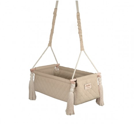 Kołyska NewBorn Swing - Beige